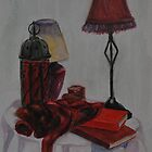 study of red objects by Inese