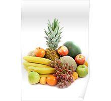 Fruit arrangement Poster