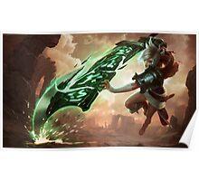 Riven - League of Legends Poster