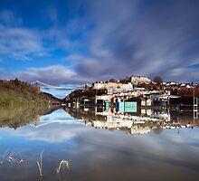 High Tide, Bristol by Carolyn Eaton