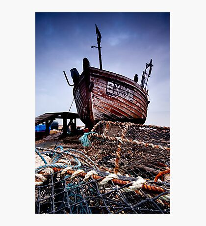 Deal Boat Photographic Print