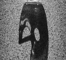 Shadow Abstract in B&W by homendn