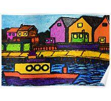 Fishermans Dock Poster