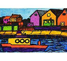 Fishermans Dock Photographic Print