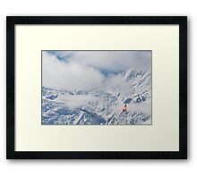 Suisse Postcards - 5 Framed Print