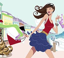 Mediterranean Shoppping Spree by wiles44
