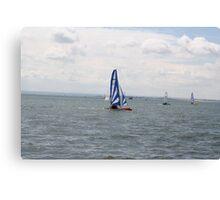 sailing bye Canvas Print