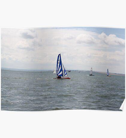 sailing bye Poster