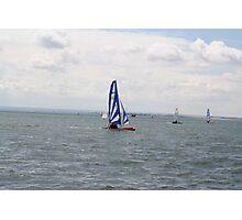 sailing bye Photographic Print