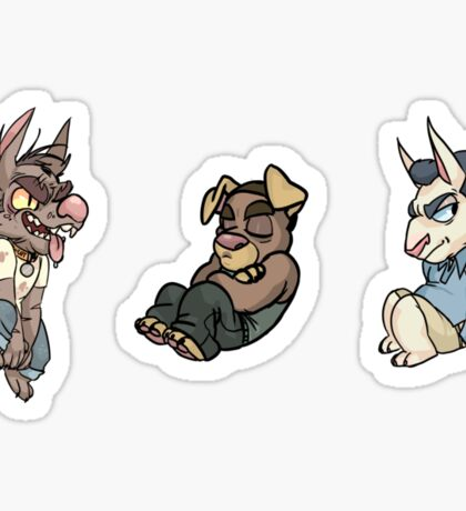 Grand Theft Auto V Pups Sticker