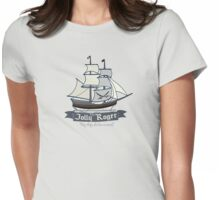 The Jolly Roger Womens Fitted T-Shirt