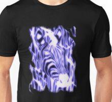 'Electric Zebra' (large logo) Unisex T-Shirt
