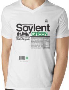 Contents: Unprocessed Soylent Green Mens V-Neck T-Shirt