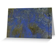 The Blue Wall. Greeting Card