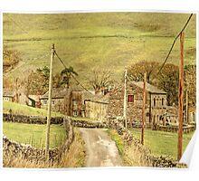 Exploring Yorkshire ~ The Road To Keld Poster