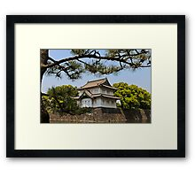 Imperial grounds - Tokyo Framed Print