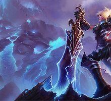 Championship Riven - League of Legends by sinaki
