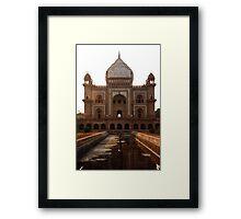 Safdarjang's Tomb - Delhi Framed Print