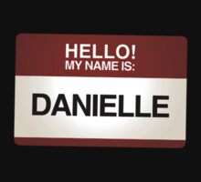 NAMETAG TEES - DANIELLE by webart