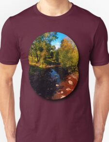 River scene at the end of summer T-Shirt