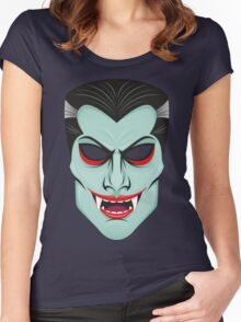 Vampire Halloween Women's Fitted Scoop T-Shirt