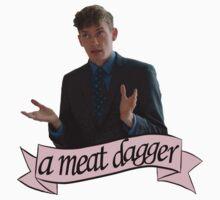 """""""A meat dagger?"""" T-Shirt"""