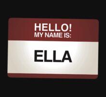 NAMETAG TEES - ELLA by webart