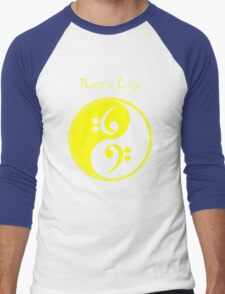 Bass is Life Men's Baseball ¾ T-Shirt