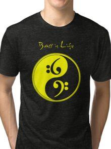 Bass is Life Tri-blend T-Shirt