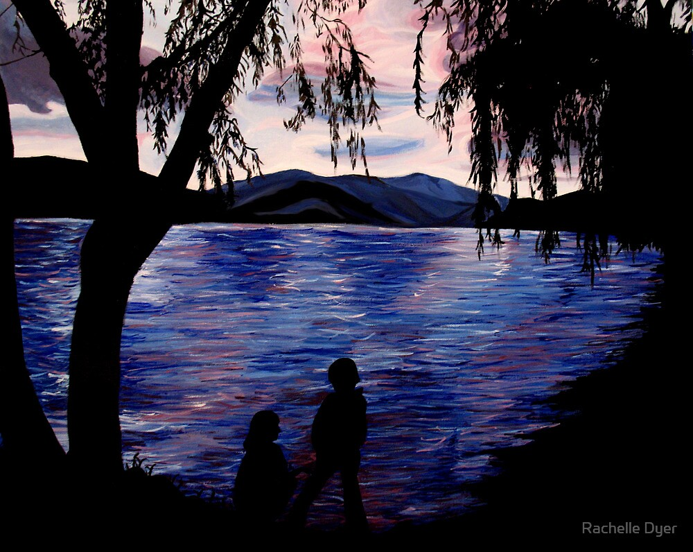Looking at the Lake by Rachelle Dyer
