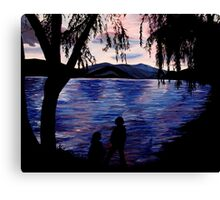 Looking at the Lake Canvas Print