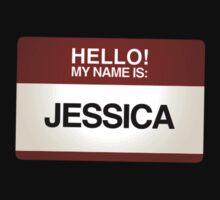 NAMETAG TEES - JESSICA by webart