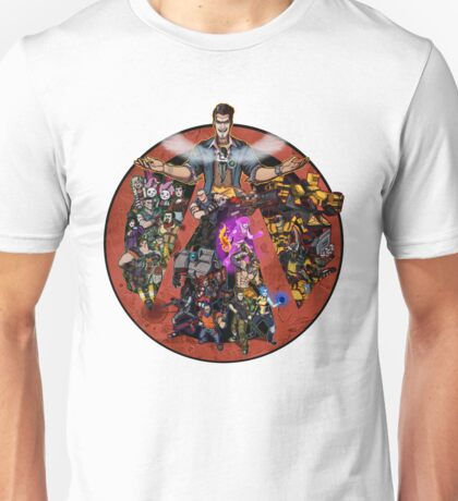 Welcome to the Borderlands Unisex T-Shirt