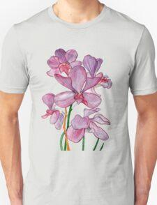 Tropical Pink Ochid Flowers T-Shirt