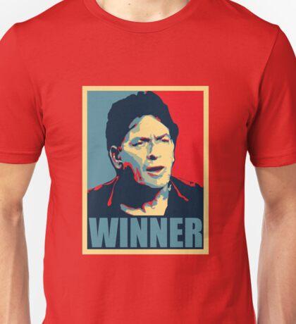 Charlie Sheen WINNER Unisex T-Shirt