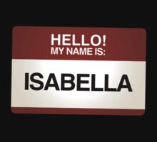 NAMETAG TEES - ISABELLA by webart