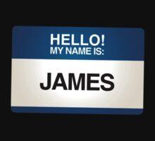 NAMETAG TEES - JAMES by webart