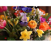 A Bouquet full of Spring Photographic Print