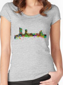 Grand Rapids  Michigan USA Women's Fitted Scoop T-Shirt