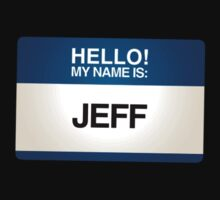NAMETAG TEES - JEFF by webart