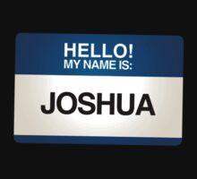 NAMETAG TEES - JOSHUA by webart
