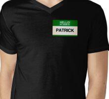 NAMETAG TEES - PATRICK Mens V-Neck T-Shirt