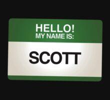 NAMETAG TEES - SCOTT by webart