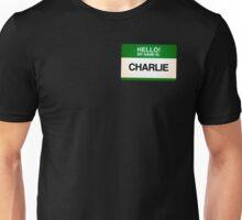 NAMETAG TEES - CHARLIE Unisex T-Shirt