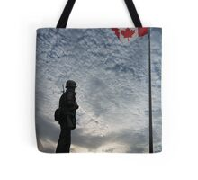 Canadian Soldier - Fallen Soldier Memorial, Ottawa ON Tote Bag