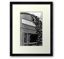 Silent War Two (35mm) Framed Print