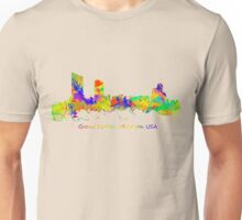 Skyline of Grand Rapids  Michigan USA Unisex T-Shirt