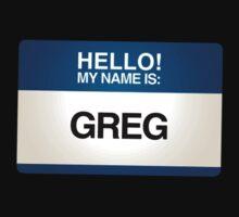 NAMETAG TEES - GREG by webart