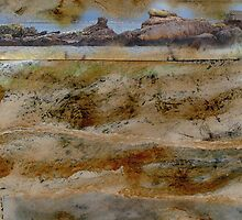 Rocky Forms - rocks & rock pools at Ballinskelligs by Yvonne North Moorhouse