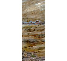 Rocky Forms - rocks & rock pools at Ballinskelligs Photographic Print